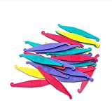 Easyinsmile Disposable Plastic Orthodontic Elastic Placers Assorted Colors (25 pcs)