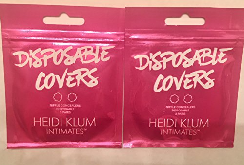 (Heidi Klum Women's Disposable Covers, Nude, Tan, One Size)