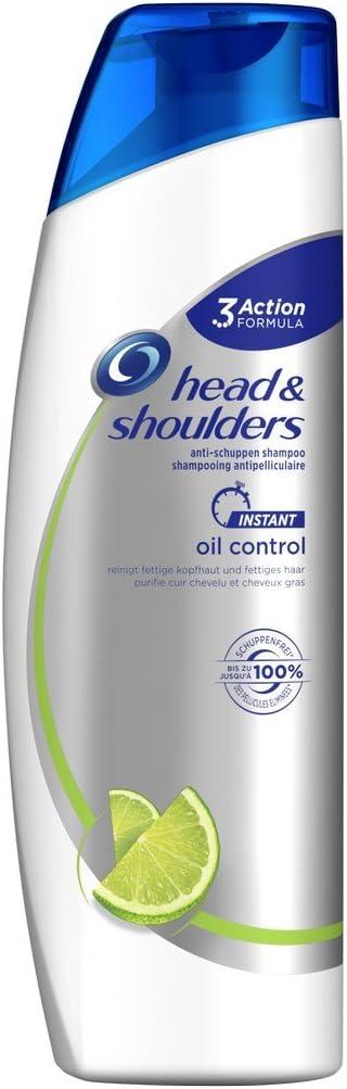 Champú anticaspa Head & Shoulders Instant Oil Control, pack de 6 con 260 ml cada unidad: Amazon.es: Belleza