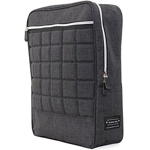 Fancyshion, Rucksack Citybag Light Laptopfach, 15 L, Schwarz, 40x30x11,50