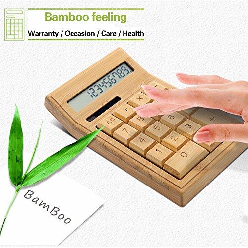 Sengu Bamboo Calculators Calculator with 12-digit