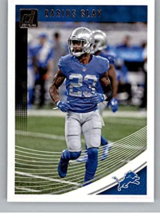 dbdcccee 2018 Donruss Football #97 Darius Slay Detroit Lions Official NFL Trading  Card
