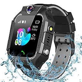 GBD Smart Watch for Kids-IP67 Waterproof Smartwatch Phone with Call Games SOS Alarm Clock 12/24 Hr,Kids Digital Wrist…