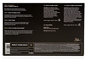 Face & Stubble Care Kit by Percy Nobleman - January Sale - A Men's Gift Set For Skin Care