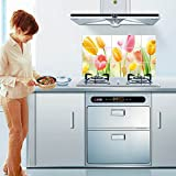 New Creative Home Life Aluminum Foil Water Oil Proofing Paster Wallpaper Kitchen