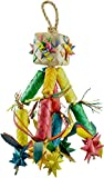 Planet Pleasures Firecracker Pinata Bird Toy, Medium