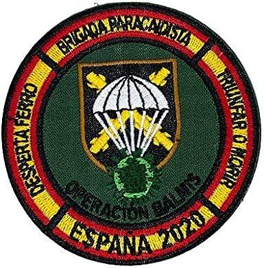 Gemelolandia | Parche bordado para la ropa Operación Balmis 2020 Operación Militar Española 8 cm Parche Hook and Loop Unidades Militares España | Muy Adherentes | Patch Stickers: Amazon.es: Ropa y accesorios
