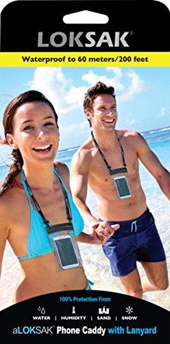 - aLokSak Waterproof Bag with Lanyard for Smartphones (1-pack)