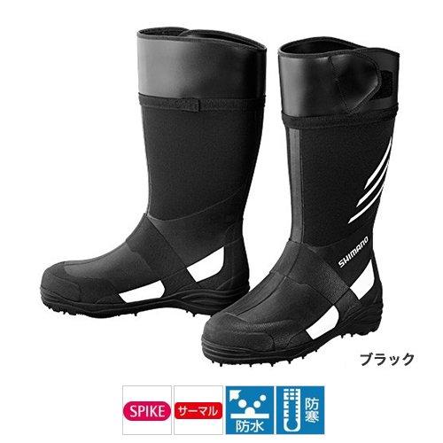 シマノ サーマル・スパイクブーツ FB-007N ブラックの商品画像