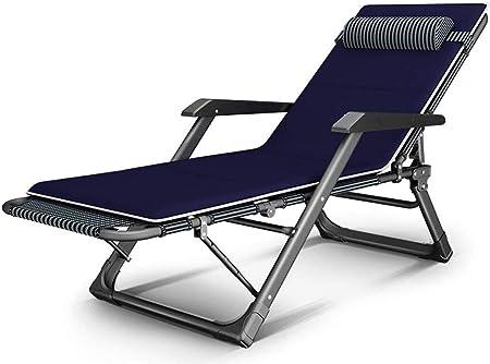 ADHW Reclinables, sillas reclinables Fuera, Jardín Tumbona Ligeros, Sillas de Cubierta Interior, Balcón reclinables sillas de Ruedas, Plegable Silla de jardín: Amazon.es: Hogar