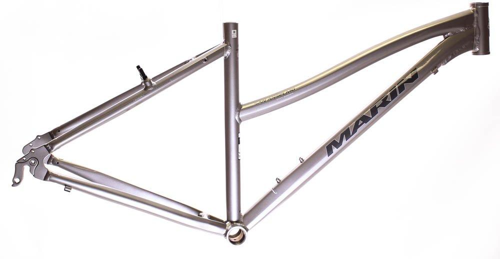 17'' MARIN SAN ANSELMO Women's Hybrid City 700c Bike Frame Silver Alloy NOS NEW
