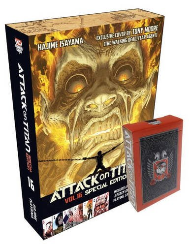 Download Attack On Titan 16 Special Edition With Playing Cards Book