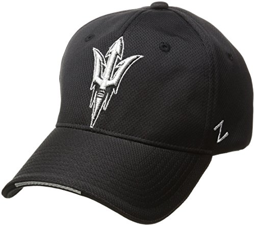Zephyr NCAA Arizona State Sun Devils Men's Synergy Z-Fit Hat, Medium/Large, Black ()