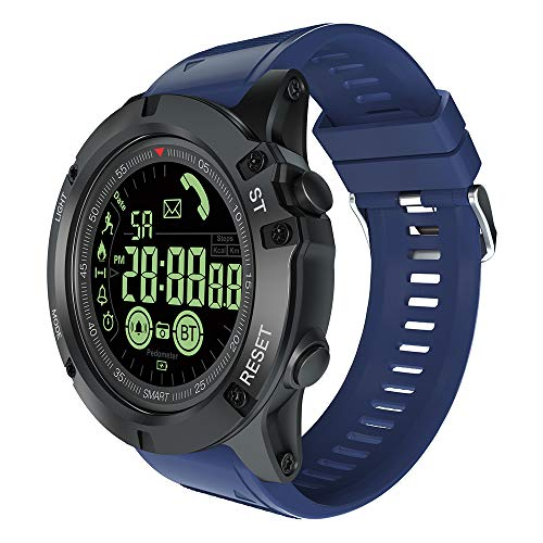 Fstn Lcd - SSXY Smart Sports Watch Portable Smart Wrist Watch with FSTN LCD Display EX17S Fitness Social Sharing
