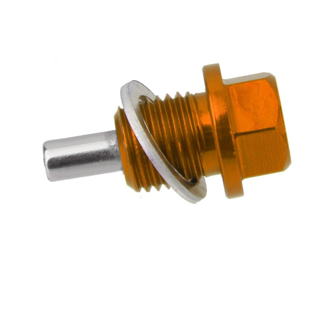 Trasmissione Magnetica Doro M14x1.5 Anodizzato Tappo Di Scarico Dellolio Motore Pan