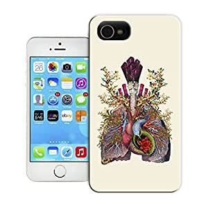 Unique Phone Case Exquisite magical pattern adore anatomical heart lungs collage by bedelgeuse Hard Cover for 4.7 inches iPhone 6 cases-buythecase