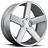 6 lug dub rims - Dub S218 Baller 22x9.5 6x139.7 +26mm Silver/Brushed Wheel Rim
