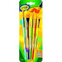 Crayola Art and Craft Brush Set, 5 Count
