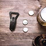 SAFEDOME Genuine Carbon Fiber Bottle Opener, Travel