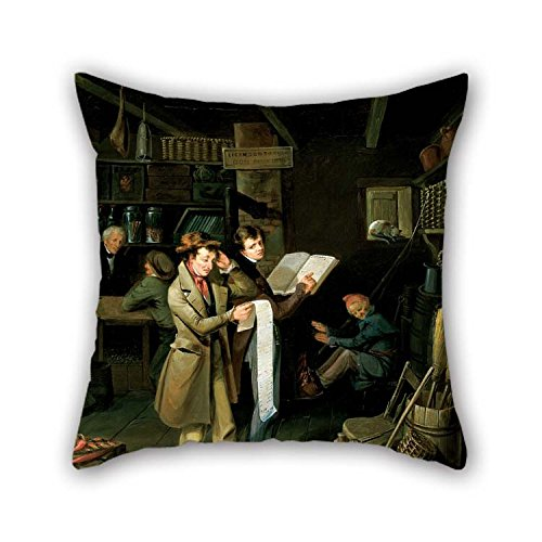 Pillowcover 20 X 20 Inches / 50 By 50 Cm(double Sides) Nice Choice For Home Theater Kids Room Dining Room Bf Kids Room Oil Painting James Henry Beard - The ()