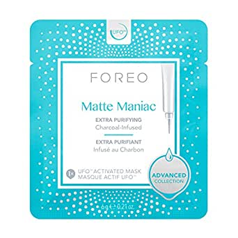 FOREO Matte Maniac UFO-Activated Mask, 6g (Pack of 6)