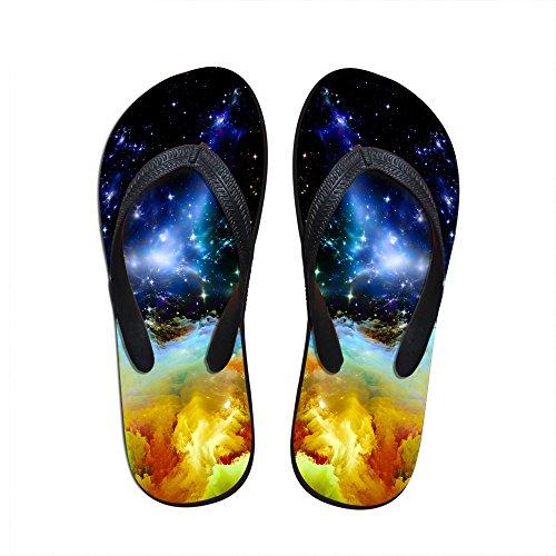 Para U Diseños Mujeres Ligeras Y Elegantes Personalizadas Galaxy V Chanclas Galaxy 7