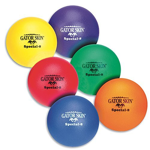 "S&S Worldwide UA014-6C 8"" Gator Skin Special Foam Balls (Pack of 6) from S&S Worldwide"