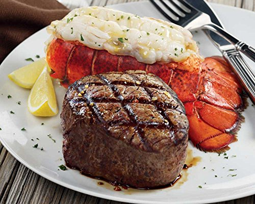 Kansas City Steaks 2 8 oz Super Trimmed Filet Mignon amp 2 5 oz Lobster Tails