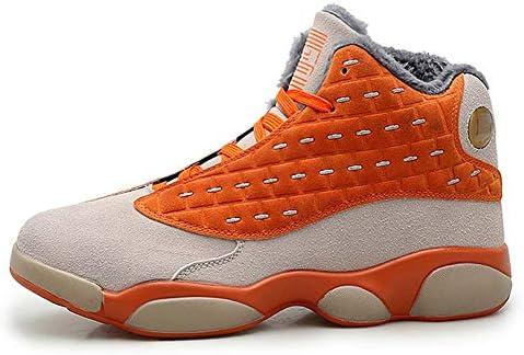 メンズ・レディース・ROR冬暖かいぬいぐるみバスケットボールシューズ、ハイトップスポーツシューズ、スニーカーバスケットオムファムカップルの靴のサイズ