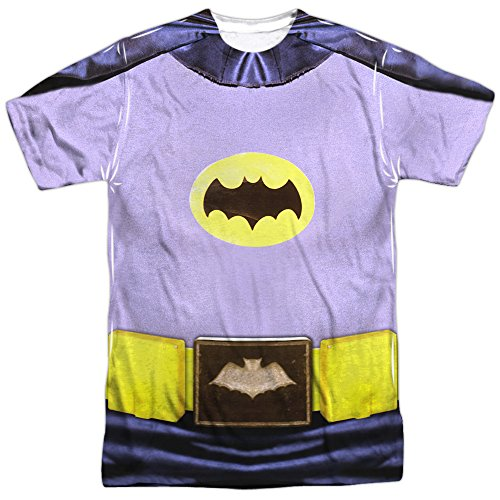 Batman+Retro+Shirts Products : Batman Classic Live-Action TV Series Retro Bat Costume Adult Front Print T-Shirt