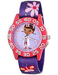 Disney Kid's W001956 Doc McStuffins Analog Display Quartz Purple Watch