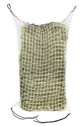 (Freedom Feeder Mesh Net Full Bale Horse Feeder - Designed To Feed Horse For 7 Days - Reduce Horse Feeding Anxiety And Behavioral Issues)