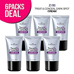 Zuri Flawless Treat & Conceal Dark Spot Skin Clarifying Skin Cream 1 oz. (6-Pack)