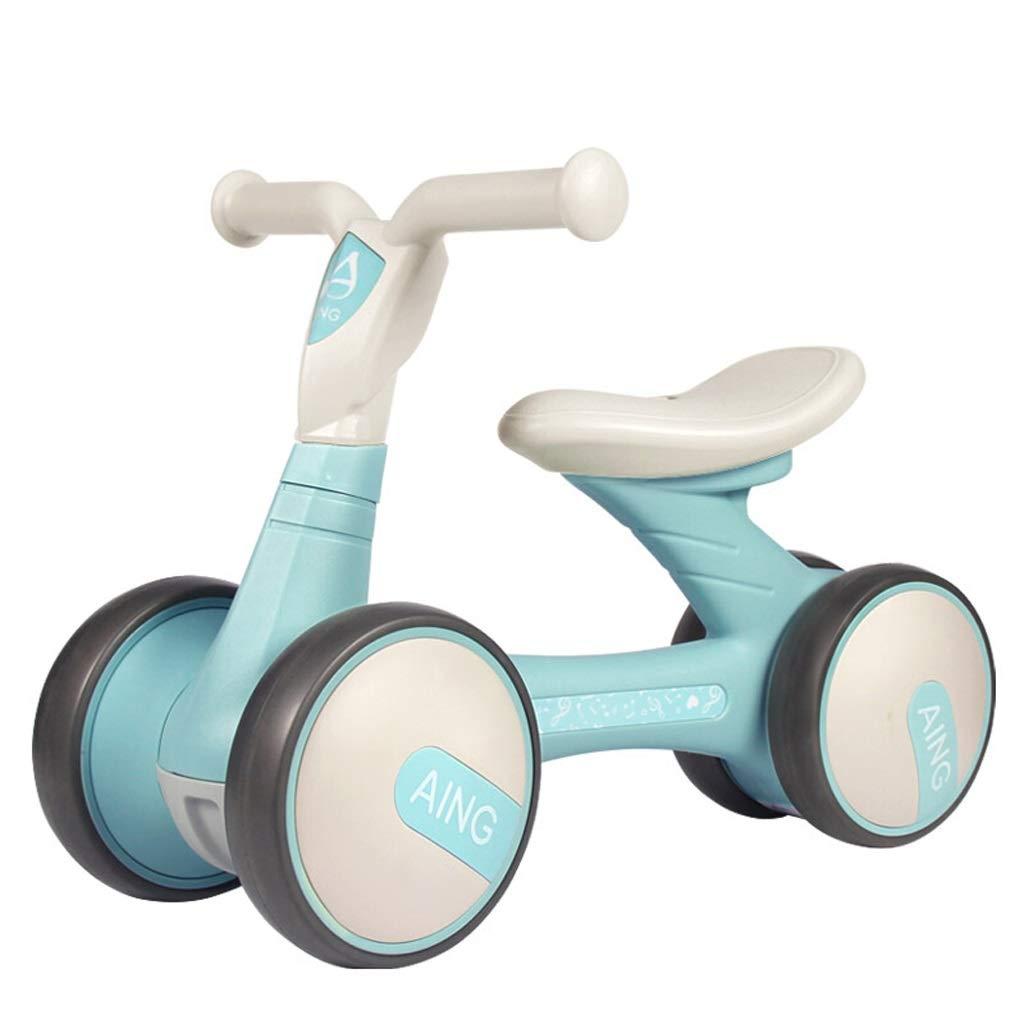 【激安大特価!】  キッズバランスバイク子供用ウォーカー幼児用三輪車(ペダルなし)子供用三輪車男の子と女の子のおもちゃの車軽量自転車 青 (色 青) : 青) 青 B07PQVT84B B07PQVT84B, サクセスビジネス:f746db2d --- senas.4x4.lt