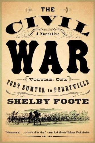 The Civil War: A Narrative: Volume 1: Fort Sumter to Perryville (Vintage Civil War Library) (List Of Causes Of The Civil War)