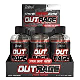 Nutrex Outrage Shot Fruit Punch, Fruit Punch, 12 Count