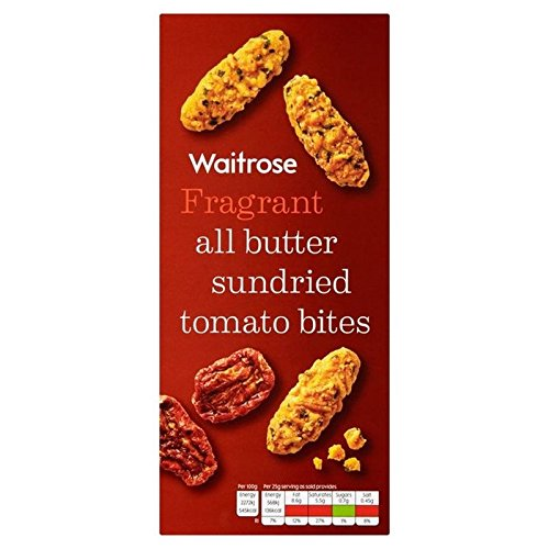 All Butter Sundried Tomato Bites Waitrose 100g (Pack of 4)