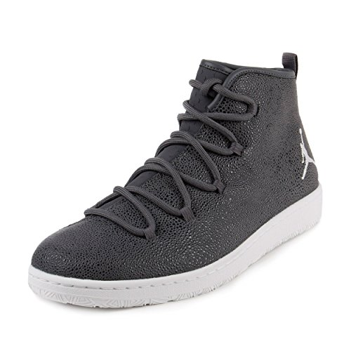 Nike Jordan Galaxy High Top Sneakers (12, Dark Grey/White)