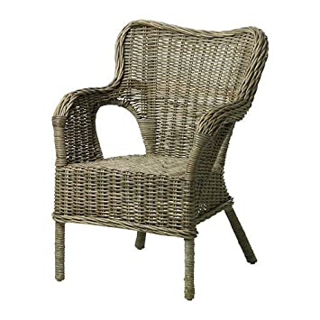 IKEA BYHOLMA -Sessel grau: Amazon.de: Küche & Haushalt