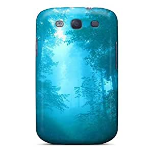 New Cute Funny Blue Forest Case Cover/ Galaxy S3 Case Cover