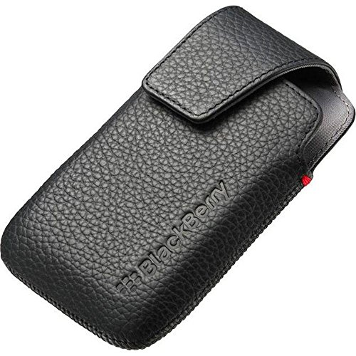 BlackBerry Bold 9790 Leather Holster - Black - ACC-41815-201