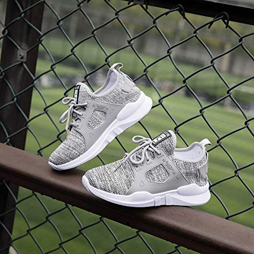 Student Grey Running Outdoor Shoes Pengygy Women's Walking Casual Sneakers Sports Fashion UH0qwOv