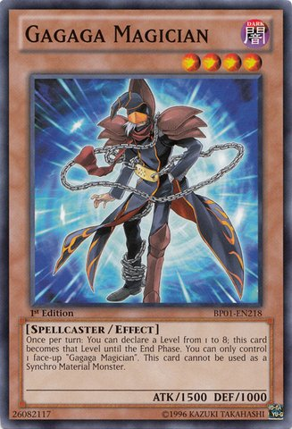 Yu-Gi-Oh! - Gagaga Magician  - Battle Pack: Epic Dawn - 1st
