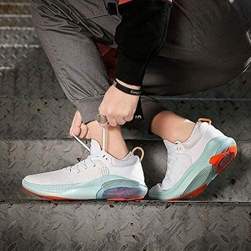 メンズランニングシューズ、衝撃吸収軽量スージング通気性の靴 (Color : A, Size : 43EU)