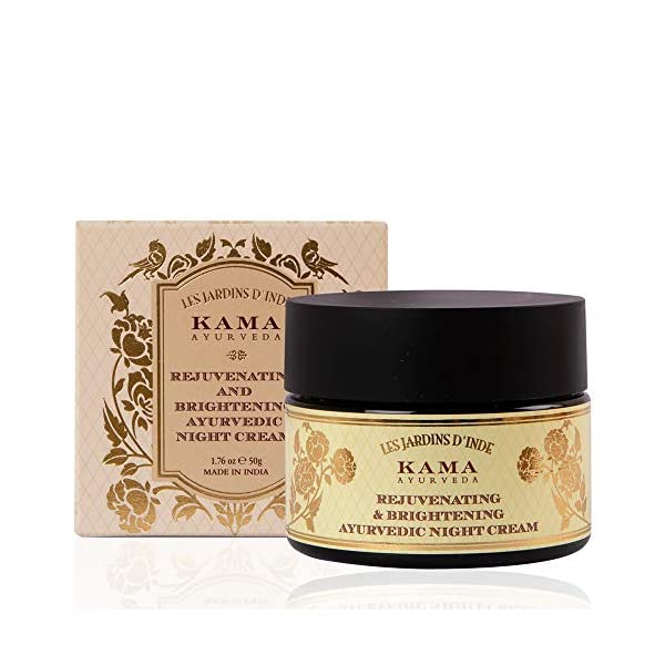 Kama Ayurveda Rejuvenating and Brightening Ayurvedic Night Cream, 25gm 2021 June