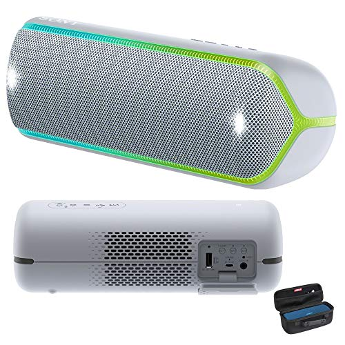 (Sony SRSXB32/H Extra Bass Portable Bluetooth Speaker (Graphite) with Travel Hard Case)