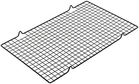 uxcell SOURCING Map Sourcingmap Camping Air Barbecue Grille Cuisson métal Noir Cuisine 40x25.5cm