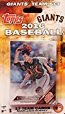 San Francisco Giants 2016 Topps Factory Sealed Special Edition 17 Card Team Set with Madison Bumgarner and Buster Posey Plus
