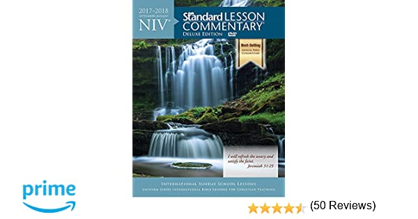 24 niv standard lesson commentary deluxe edition 2017 2018 24 niv standard lesson commentary deluxe edition 2017 2018 standard publishing 9780781414951 amazon books fandeluxe Choice Image