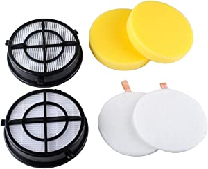 16871 Filter for Bissell Pet Hair Eraser Febreze Upright Vacuum Filters Model 1650 Series, 1650A, 1650C, 16501, 16502, 1650P, 1650R, 1650W, Replace 1608861, 1608860, 160-8861 & 160-8860 (2 Pack)